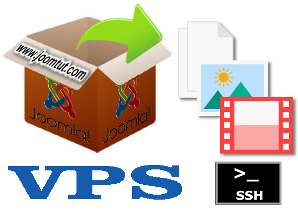 How to get and unzip Joomla! installation package on private virtual server – VPS