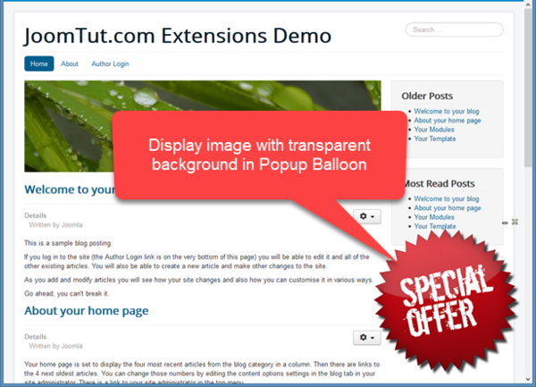 Display your image with transparent background