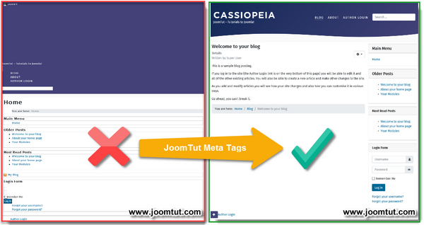 Plugin JoomTut Meta Tags IE Fixed