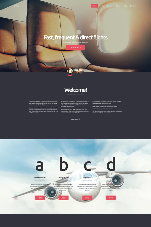 Winter Tour – Travel Agency template